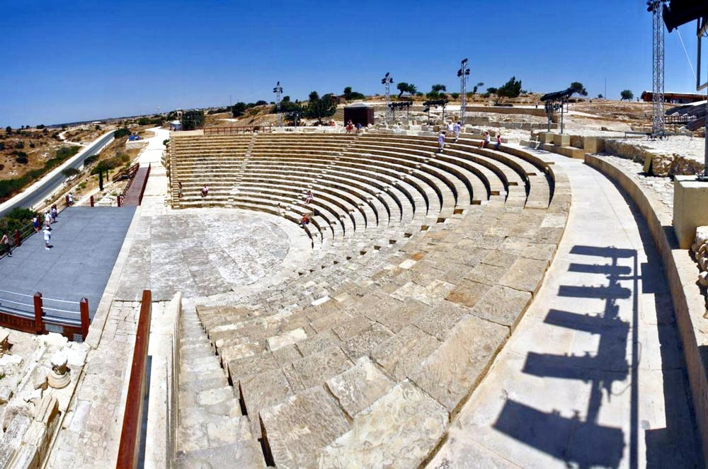 Древний театр в Курионе на Кипре