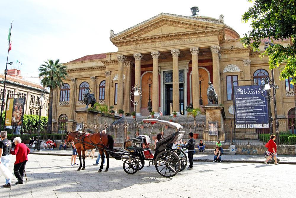 театр оперы Массимо Италия