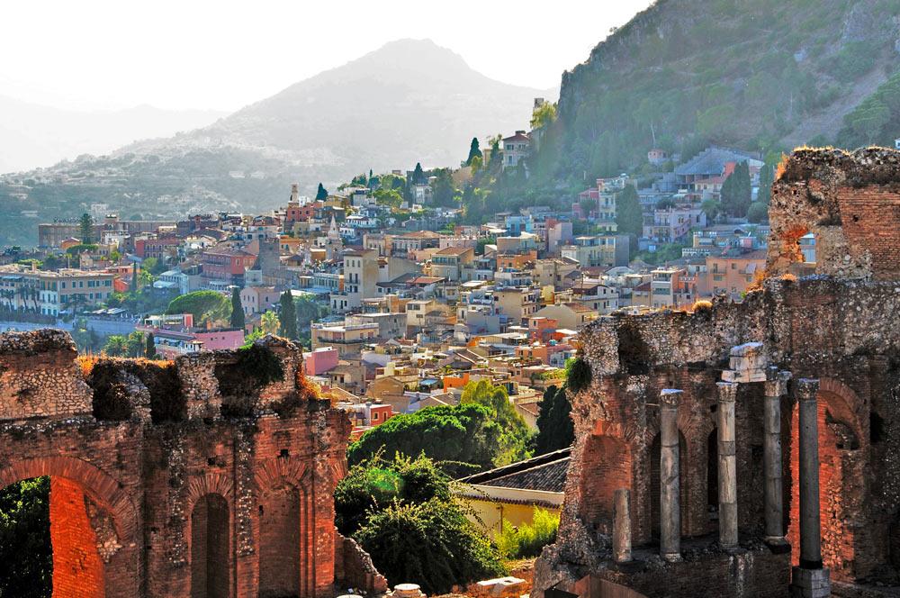 отдых в таормина Сицилия