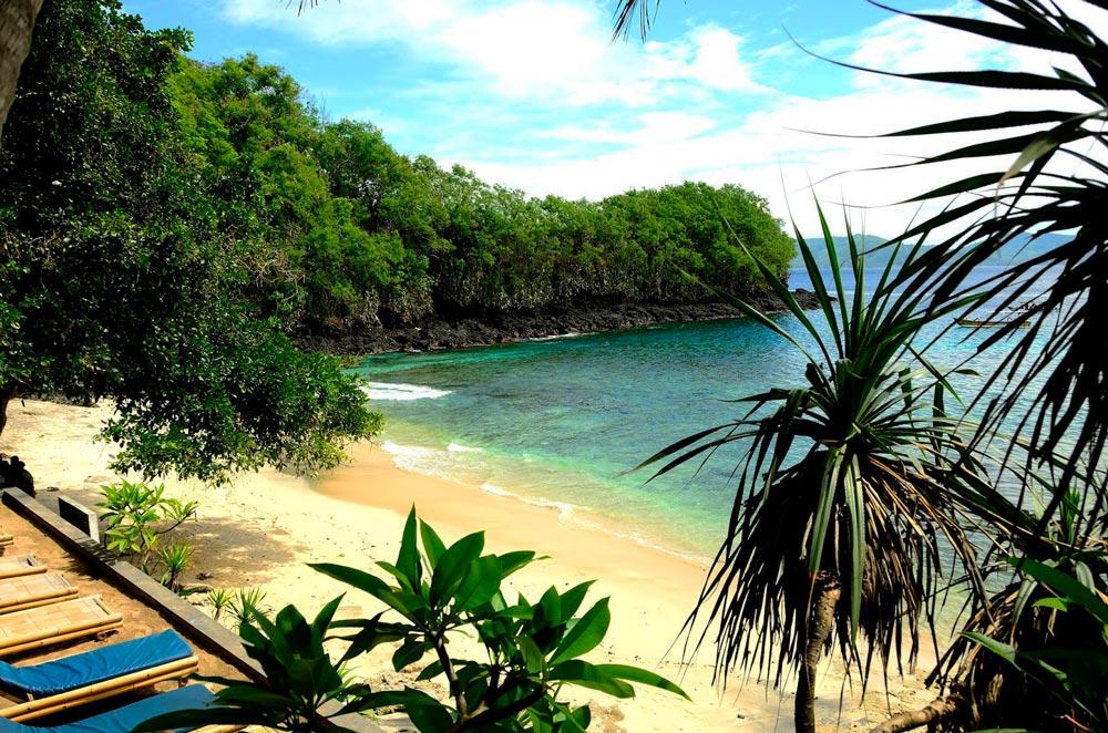 Бали, пляж Голубая Лагуна
