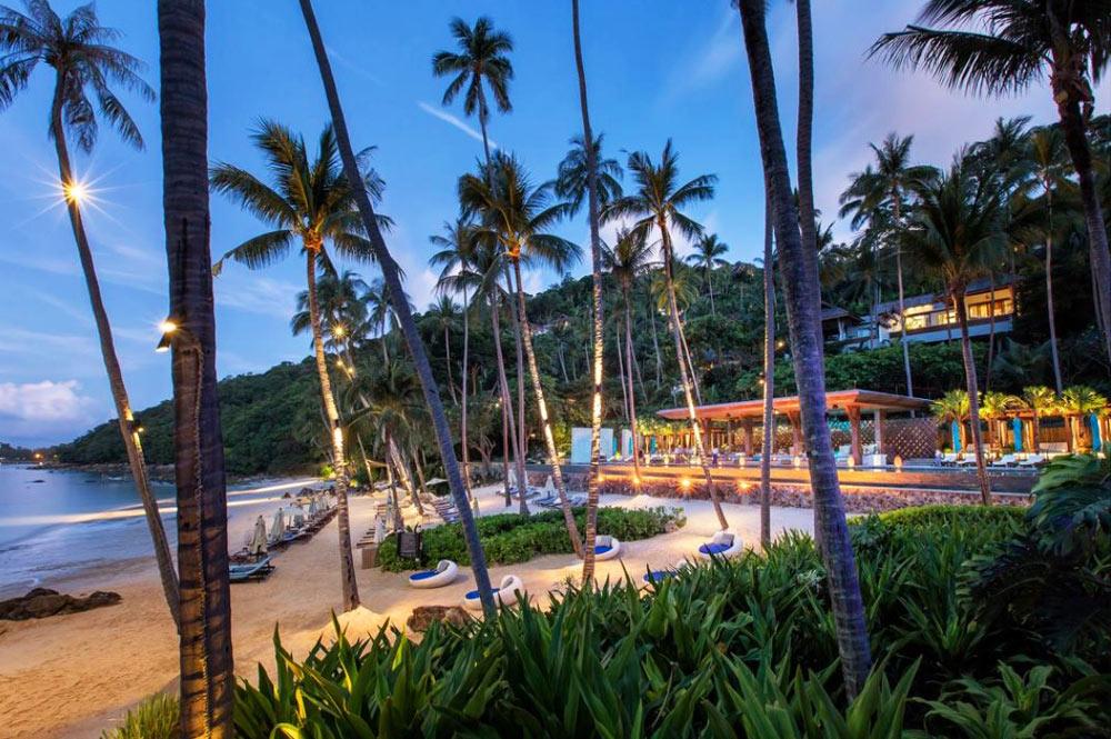 Отели Самуи на пляже Чавенг