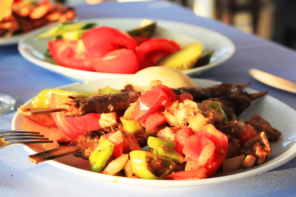 Еда в отелях Турции