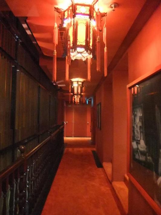 Коридор отеля grand santa 3*