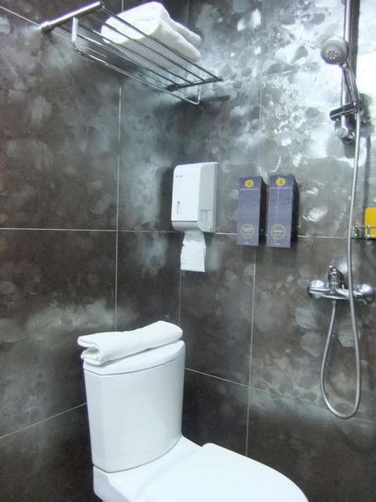 Ванная комната в номере