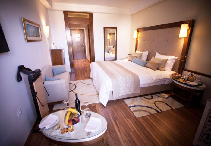гостиницы Туниса на первой линии