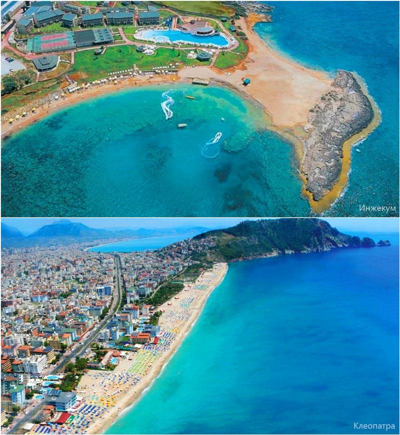 пляж Клеопатра, Турция