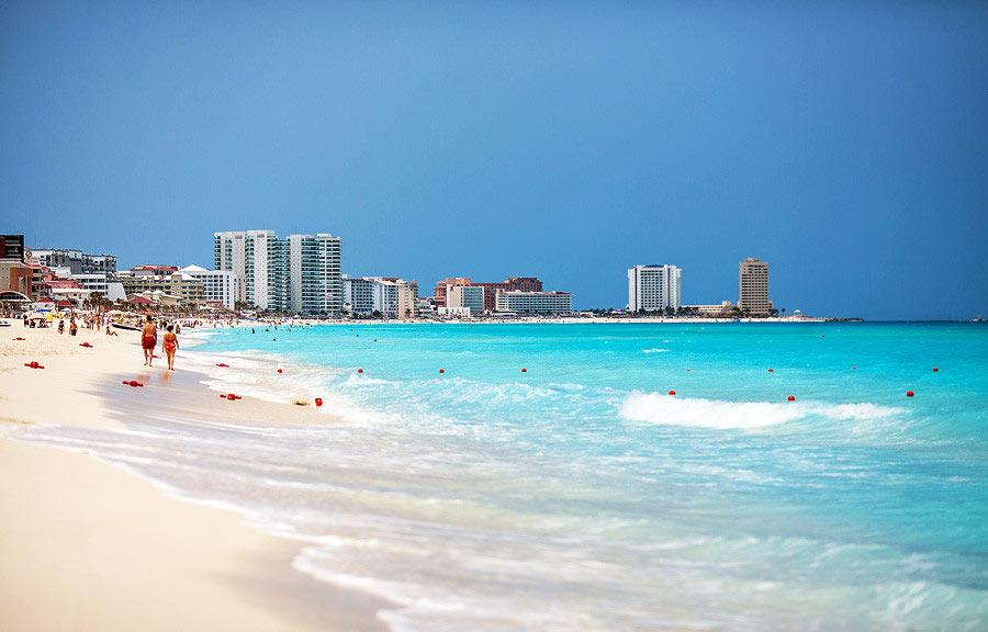 Лучшие курорты Мексики на Карибском море
