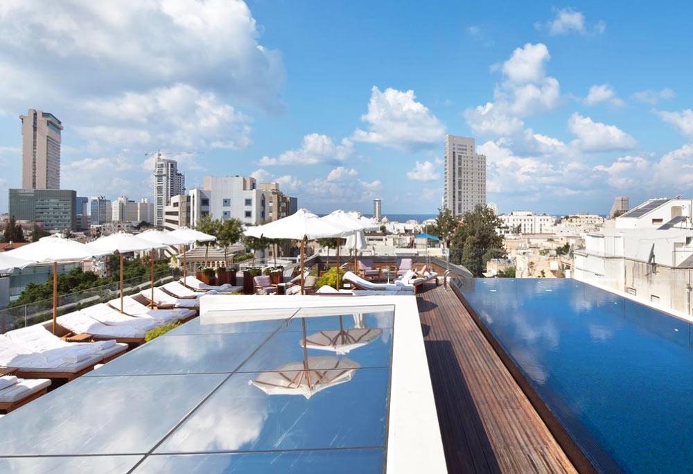 отели в тель-авиве на берегу моря 5 звезд