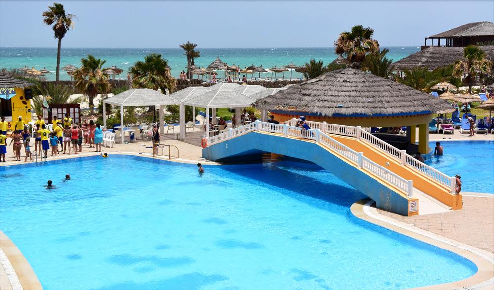 Отели Туниса для отдыха с детьми с аквапарком