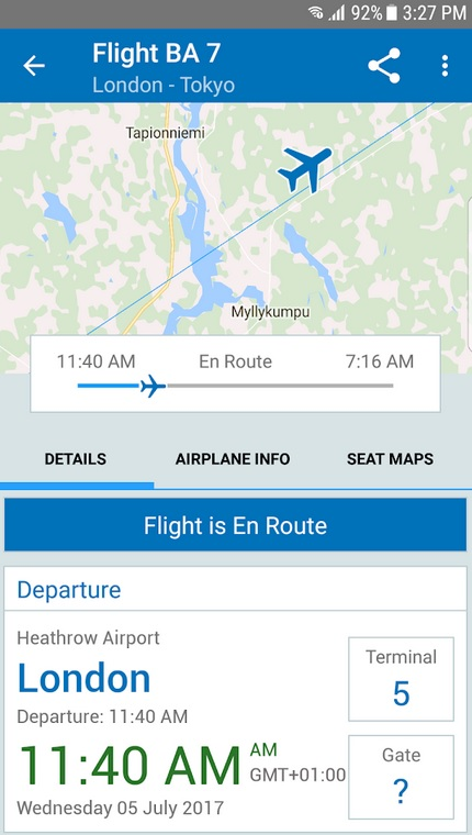 flighttrack 5 android