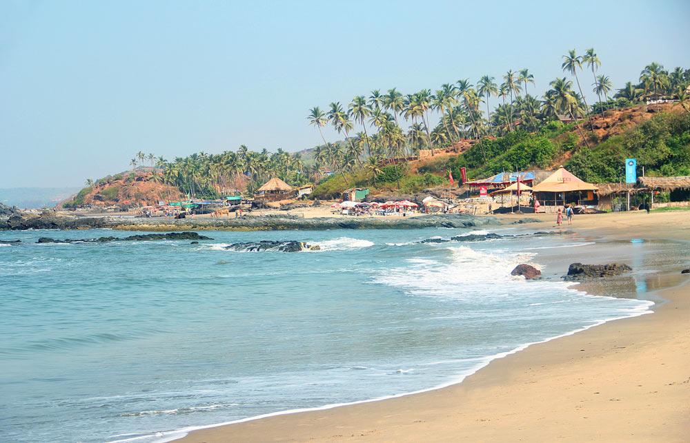 Пляжный отдых в Индии с детьми
