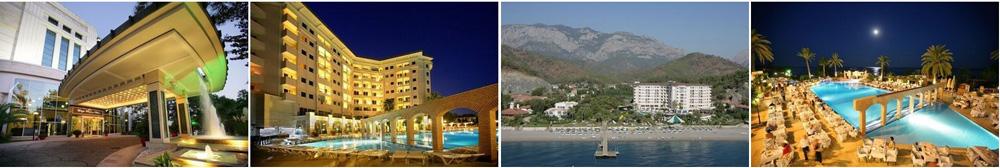 лучшие отели 5 звезд в Кемере все включено