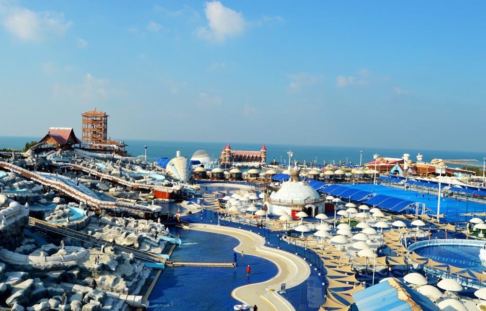 отдых на курорте Дубай на Новый год