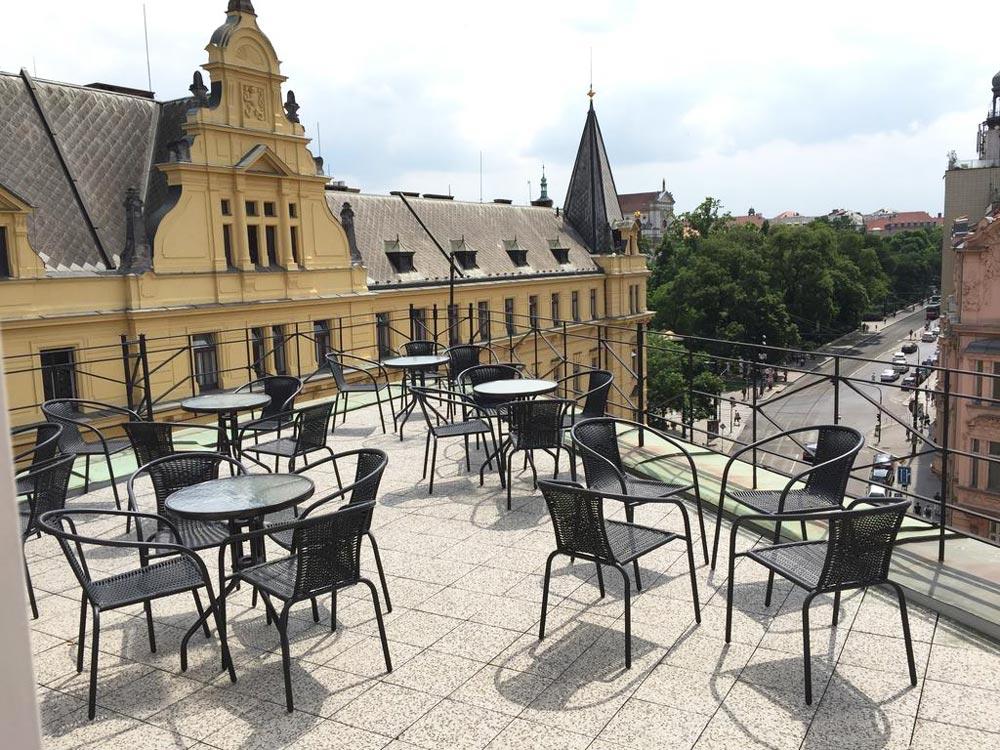 Отели в центре Праги 4 звезды