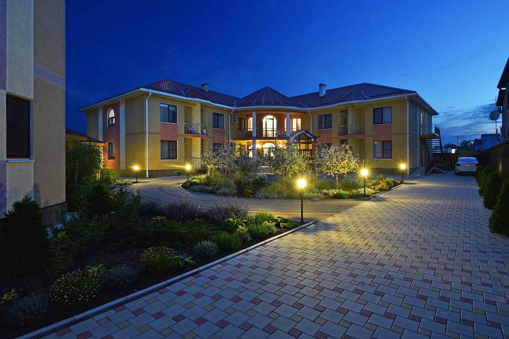 отель у моря в Краснодарском крае