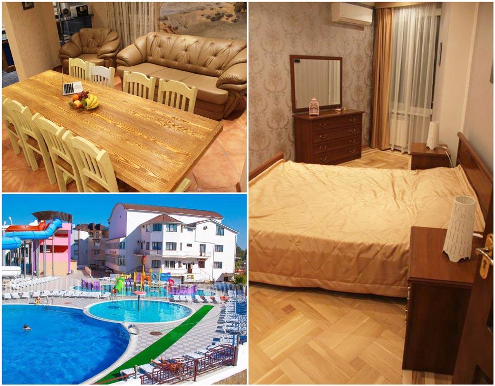 стоимость аренды коттеджей в Крыму