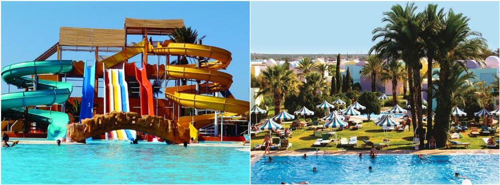 Отели в Тунисе с аквапарком все включено