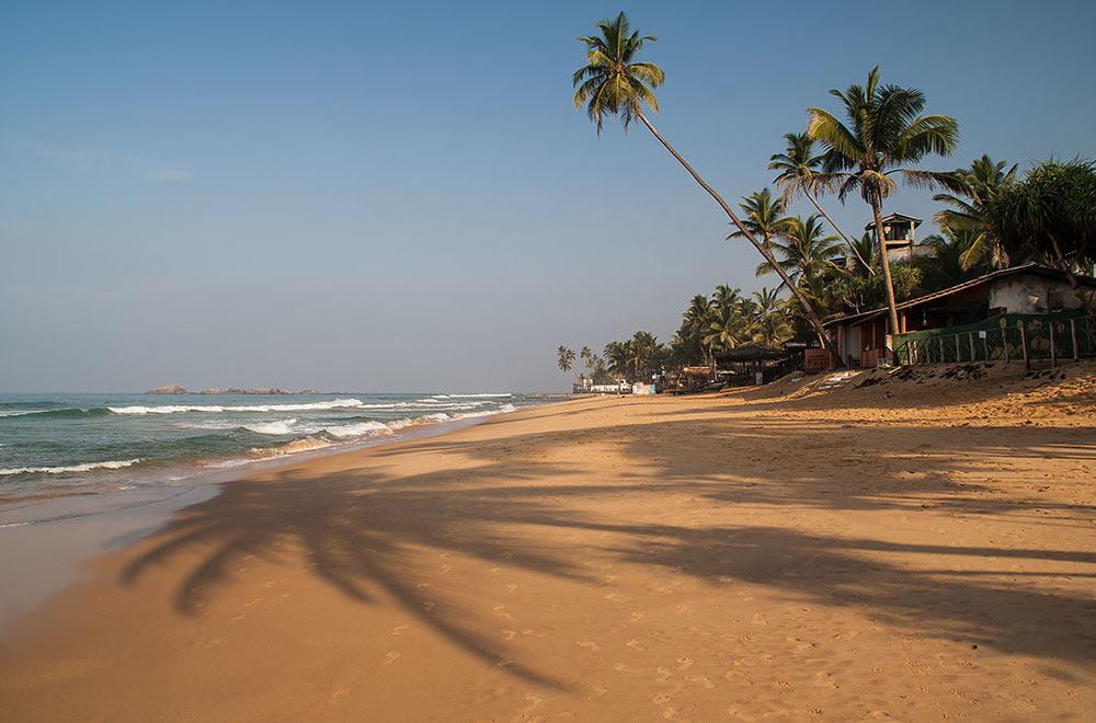 Пляжные курорты Шри-Ланки