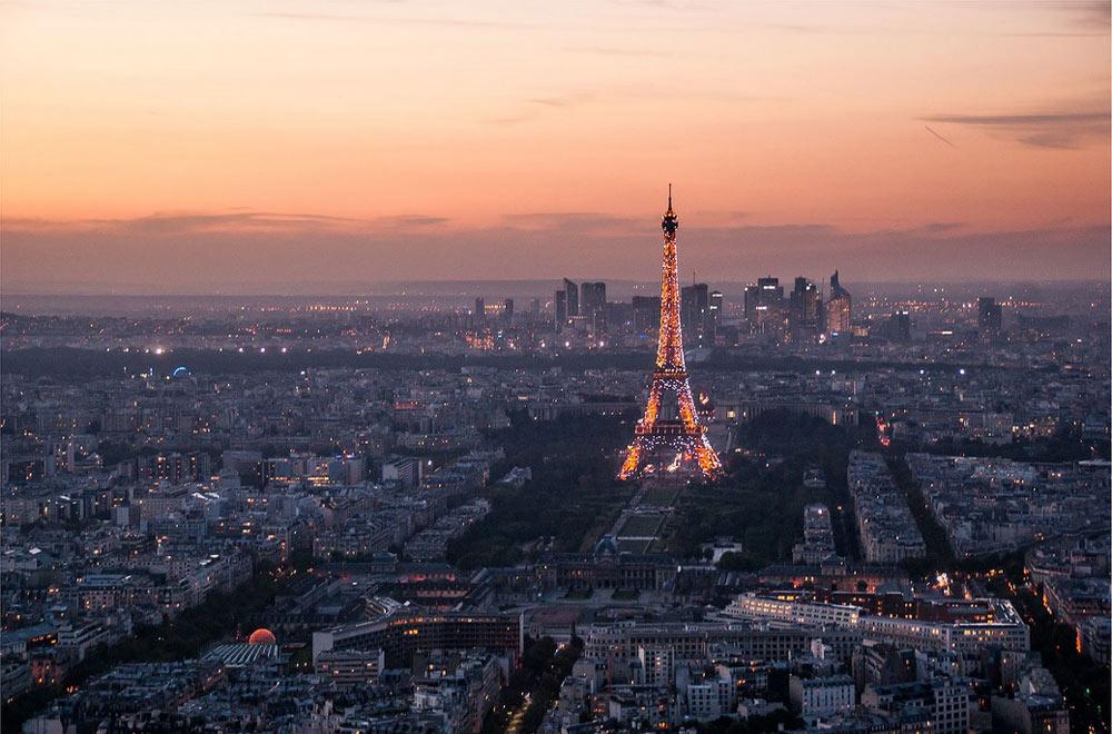Цены на авиабилеты в Париж