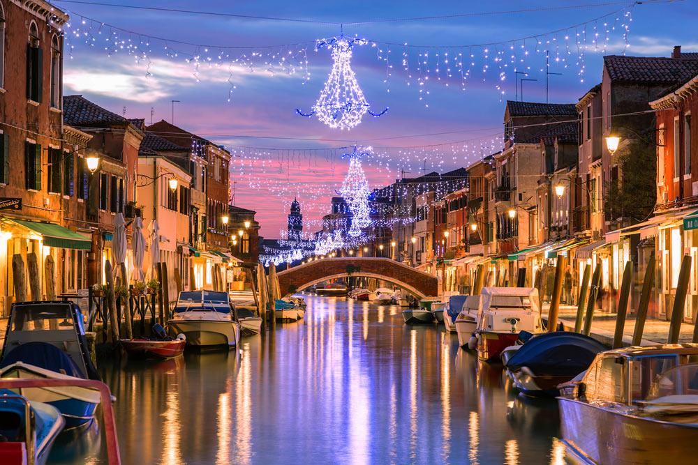 Провести Новый год в Италии с детьми