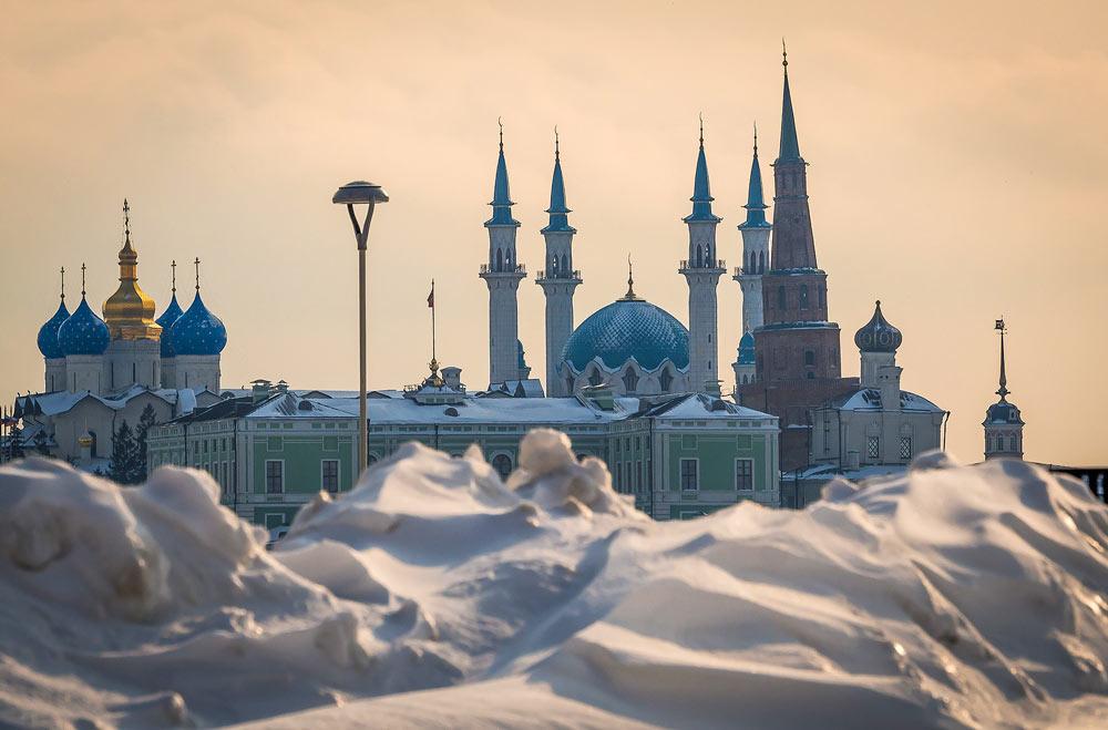 Поездка в Казань зимой