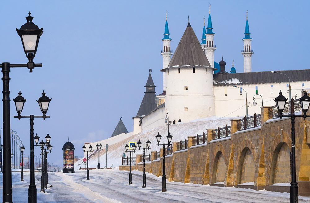 Два дня в Казани с выездом из Саратова на поезде 5 января 2019