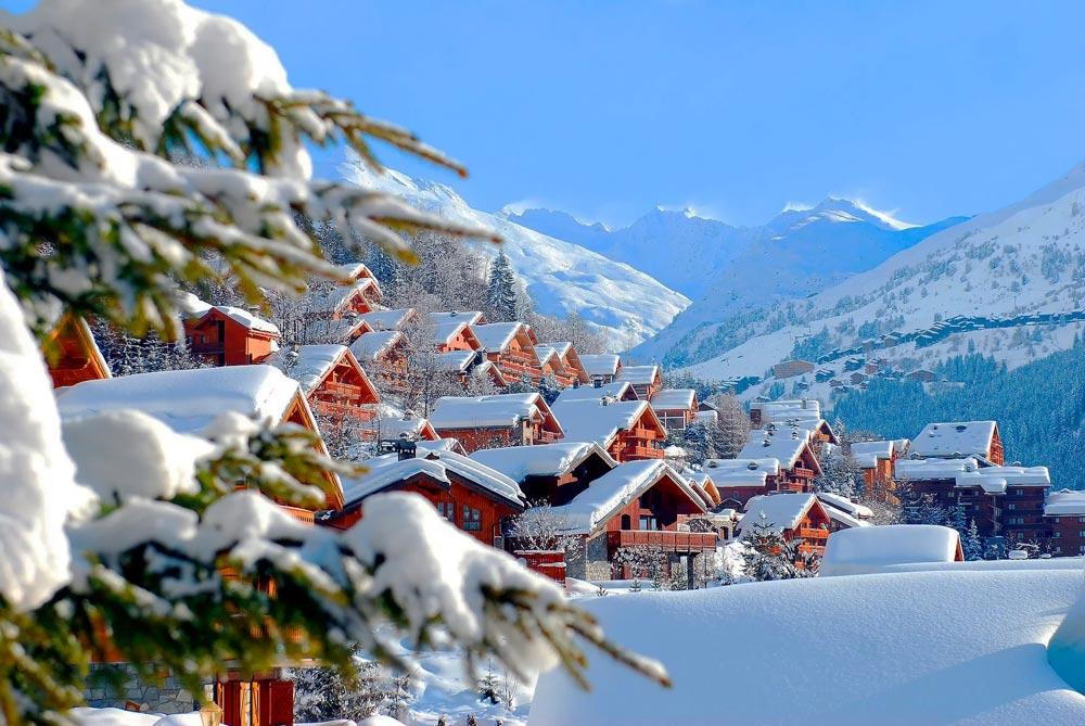 Новый год в горах России