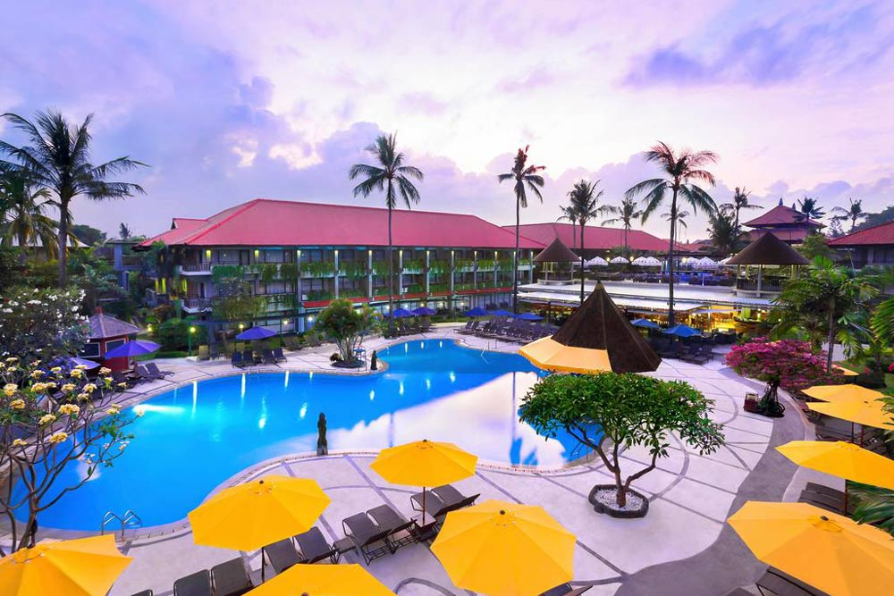 недорогие отели Бали с бассейном