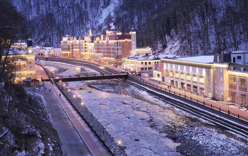 Где отдохнуть в России весной