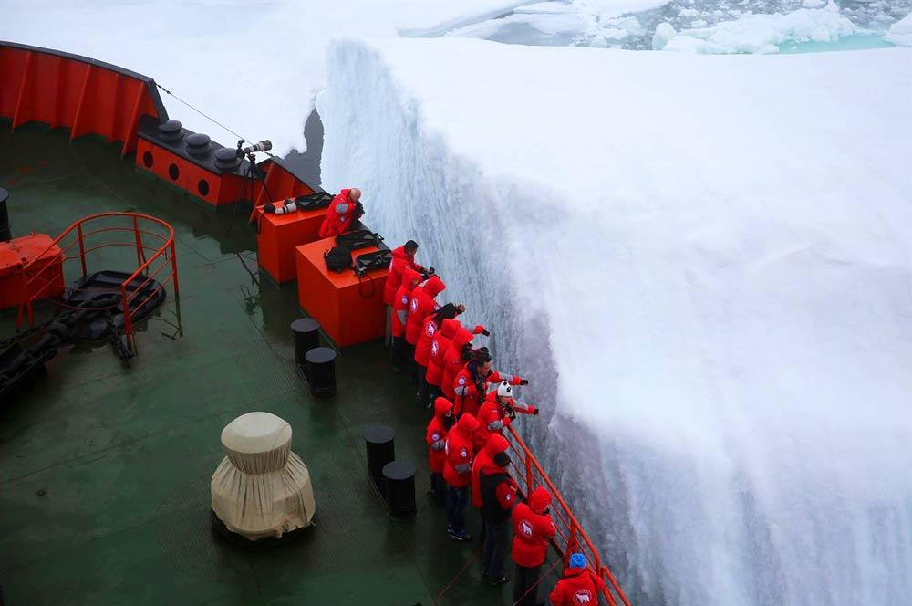 поездка в арктику на ледоколе, цена