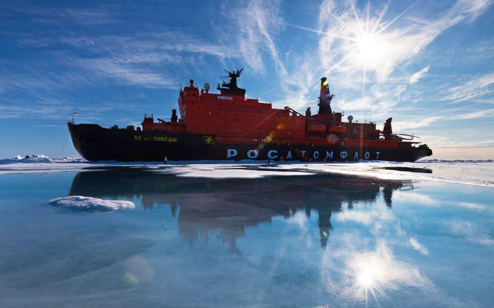 Экскурсия на ледоколе в Арктику