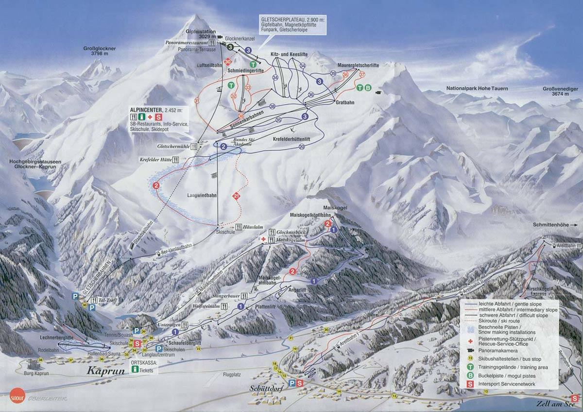 Куда поехать в Австрию зимой