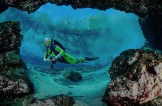 подводное погружение в крыму
