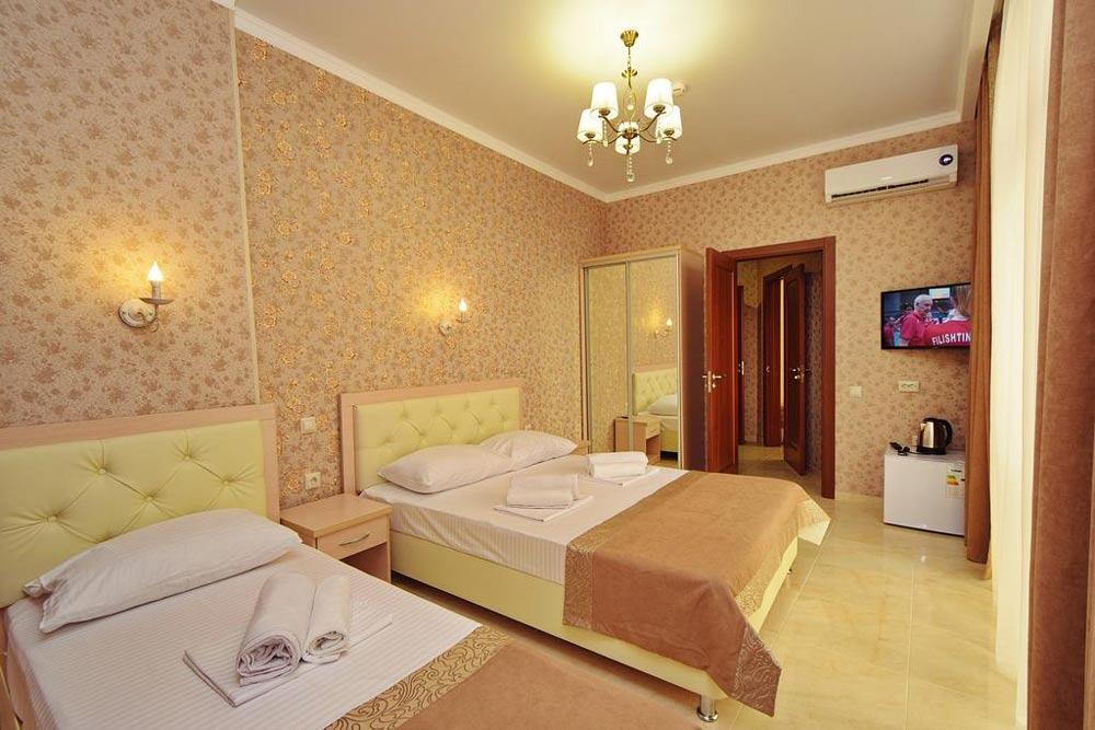 лучшие отели в Кабардинке с бассейном
