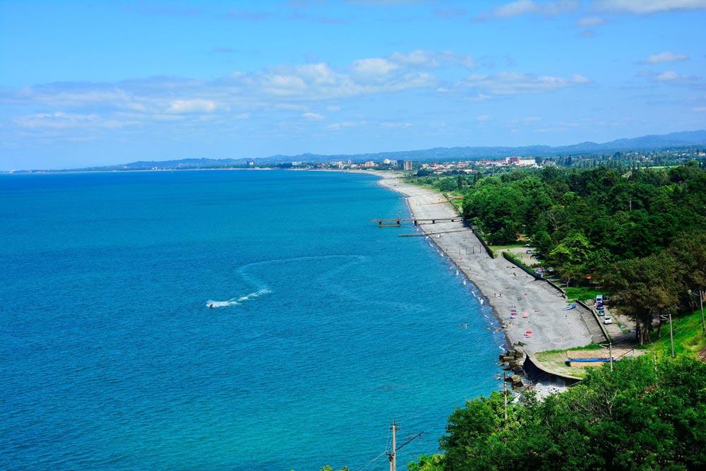 пляжи Кобулети