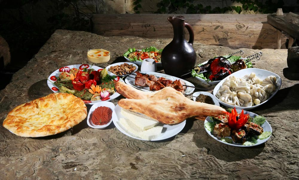 сколько стоит поесть в Грузии