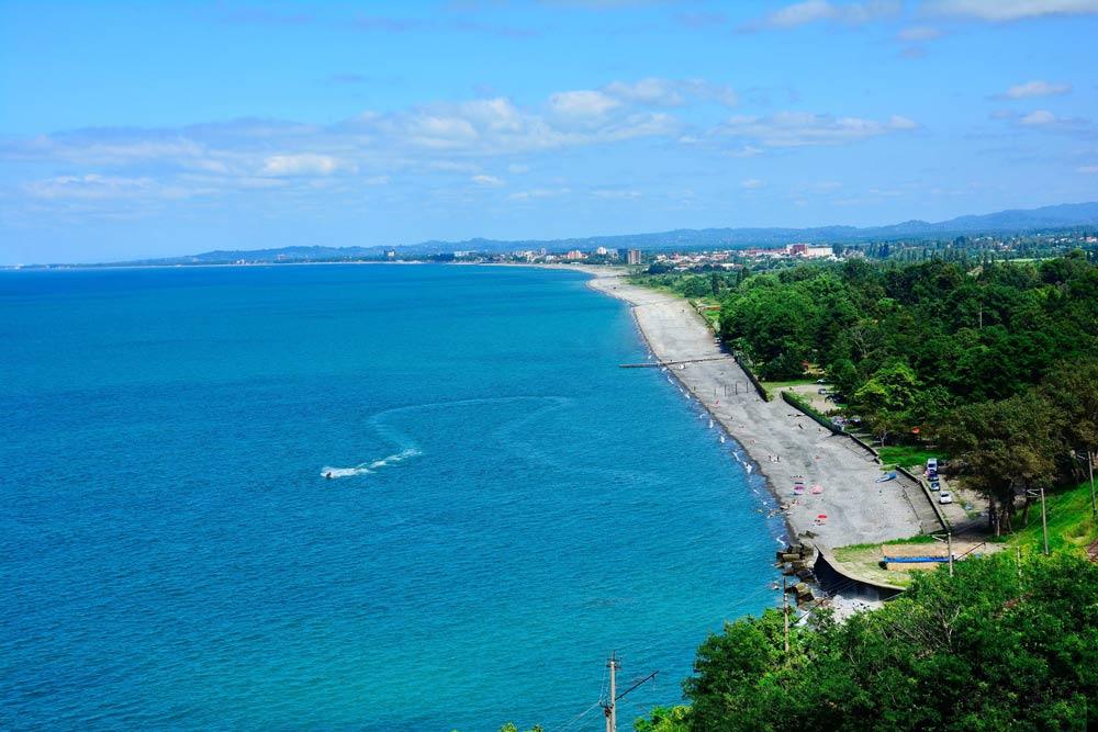 популярные пляжи Грузии по отзывам туристов