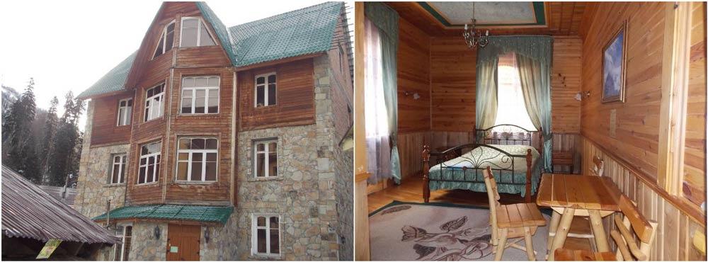 гостиницы с видом на горы