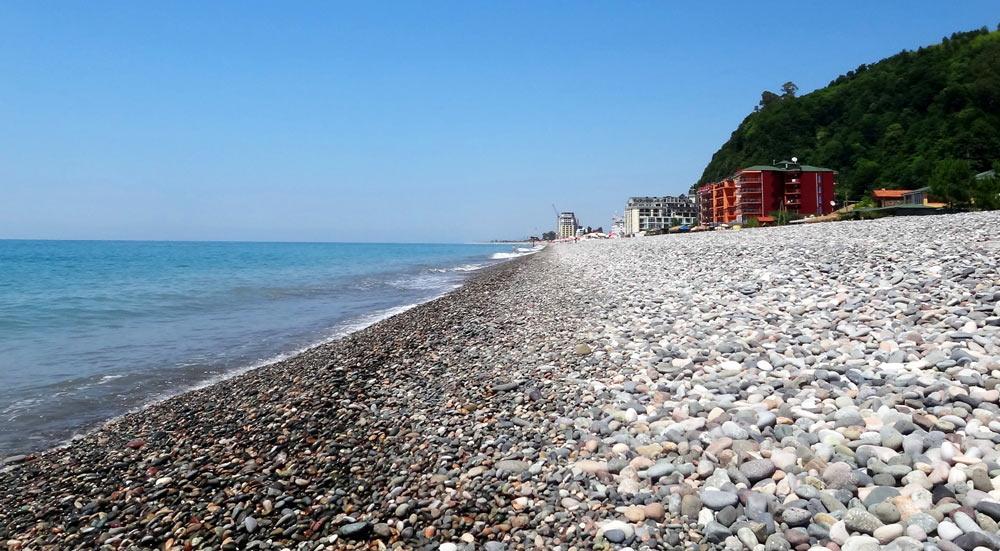 лучшие пляжи батуми