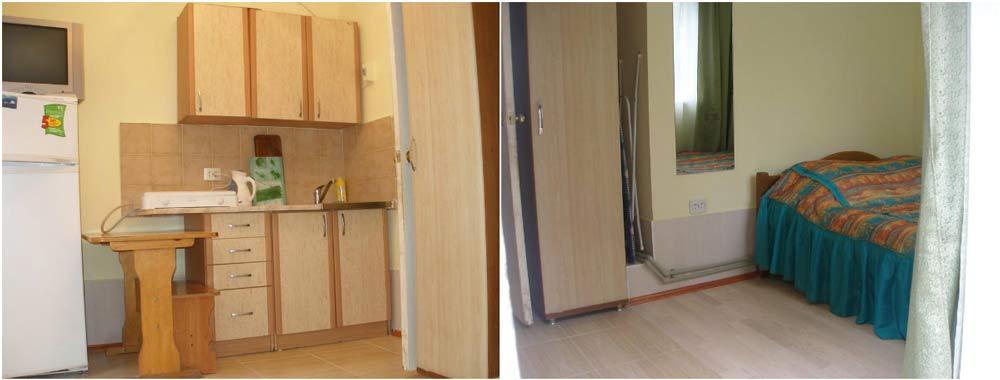 недорогие квартиры для летнего отдыха в Крыму