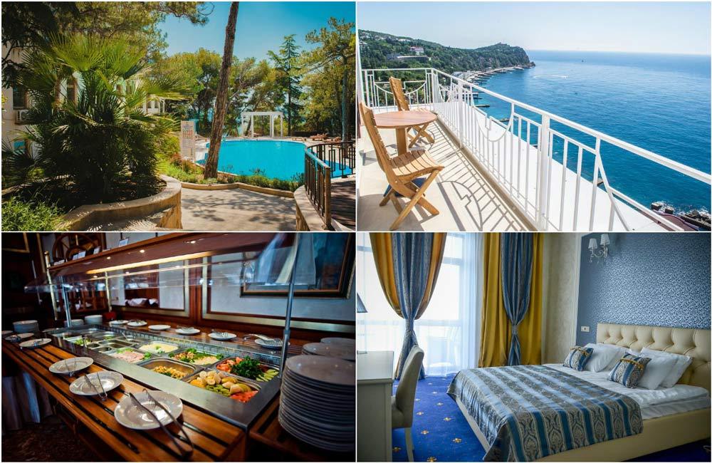 цены на отели в Крыму рядом с морем