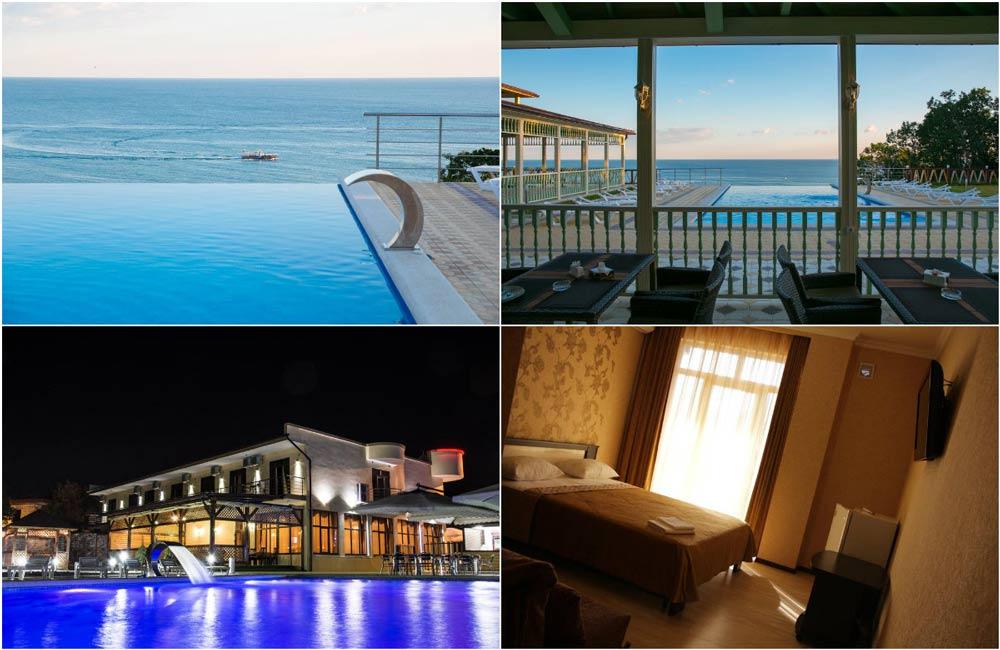 Отели Джубгы с бассейном