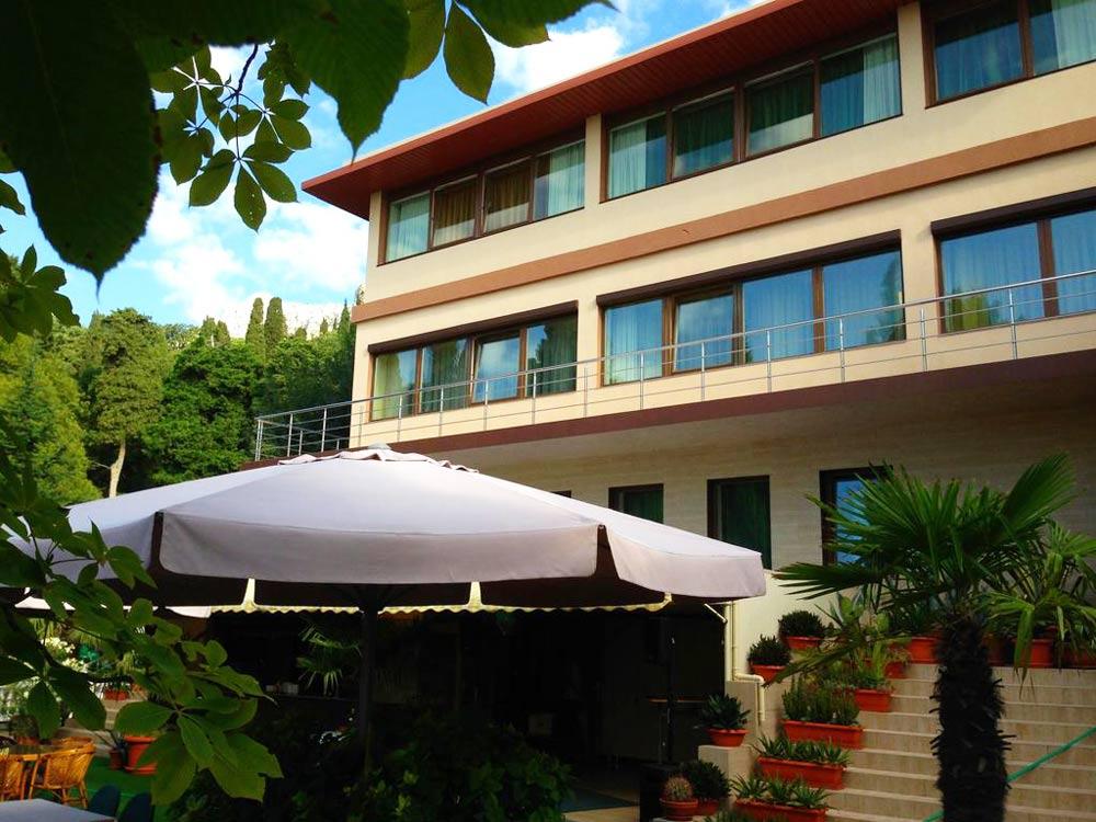 отель Аллигатор в Туапсе