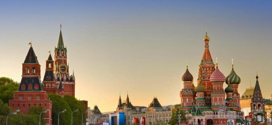 где погулять в столице РФ