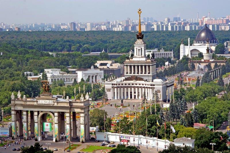 где побывать в москве за один день
