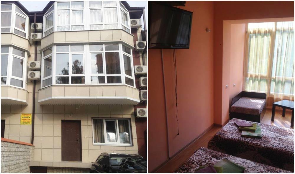 дешевые гостевые дома в Краснодаре