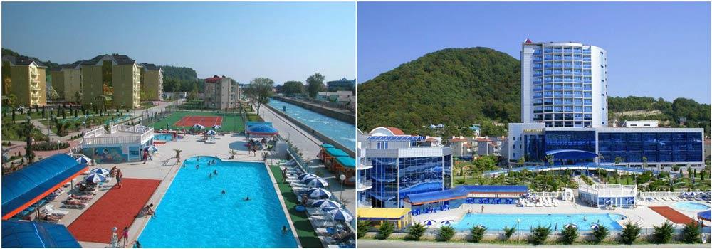 отели в ольгинке рядом с морем и бассейном