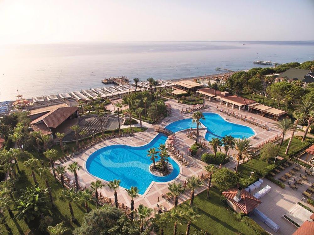 отели Кемера 5 звезд на первой линии все включено с собственным пляжем