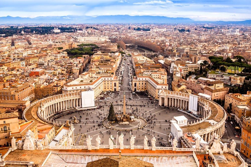карта достопримечательностей Рима
