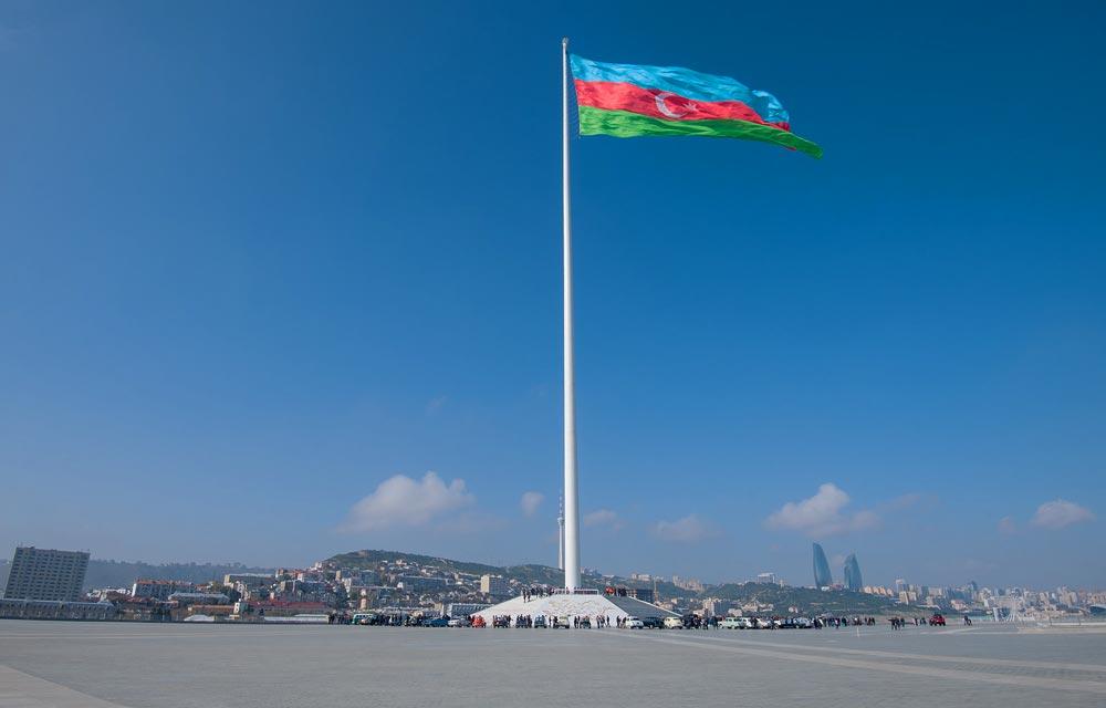 маршурт пешей прогулки по Баку